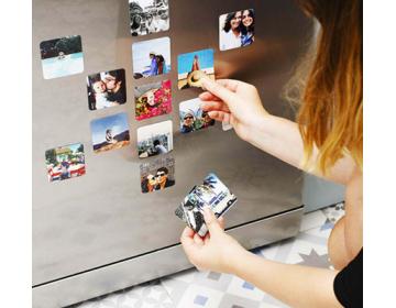 10x10 cm Foto Magnet